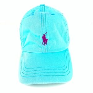 Light blue Ralph Lauren Blue Label baseball cap